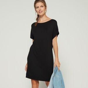 Gap Dolman Sleeve Cutout Black Dress Small Tall